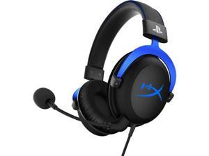 HyperX Cloud Headset - Stereo - Blue - Mini-phone - Wired - 41 Ohm - 15 Hz - 25 kHz - Over-the-head - Binaural - Circumaural - 4.27 ft Cable - Electret, Condenser, Noise Cancelling Microphone
