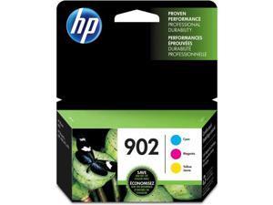 HP 902 3-Cartridges Tri-Color Original Ink Cartridges (T0A38AN)(Single Pack)