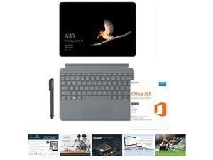 "Microsoft Surface Go 10"" Intel Pentium Gold 4GB RAM 64GB SSD  -   Platinum Surface Go Signature Type Cover  - Office 365 Personal 1 Year - NuVision Digital Pen - Services Suite Elite 2 voucher"