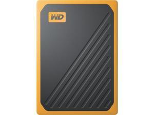 WD 1TB My Passport Go SSD Amber Portable External Storage, USB 3.0 - WDBMCG0010BYT-WESN