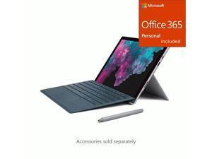 """Microsoft Surface Pro 6 12.3"""" Core i7 16GB RAM 512GB SSD Pla + Office 365 Bundle"""