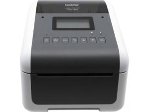 """Brother TD-4550DNWB 4.3"""" Desktop Wireless Network Direct Thermal Label, Tag, Wristband, and Receipt Printer, 300 dpi, USB, Serial, Ethernet LAN, Wi-Fi WLAN, Bluetooth BLE, MFi, Tear Up, Peeler, Cutter"""