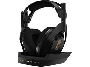 ASTRO Gaming A50 Wireless Headset + Base Station for XBox Series X|S,  XBox One, and PC - Black/Gold