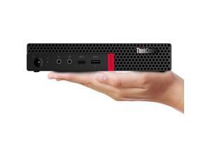 Lenovo ThinkCentre M630e 10YM004SUS Desktop Computer - Core i5 i5-8265U - 16 GB RAM - 512 GB SSD - Tiny - Black