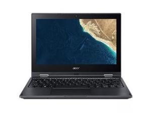 "Acer TravelMate Spin B1 B118-G2-RN TMB118-G2-RN-C4CE 11.6"" Touchscreen LCD 2 in 1 Notebook - Intel Celeron N4000 Dual-core (2 Core) 1.10 GHz - 4 GB DDR4 SDRAM - 128 GB SSD - Windows 10 Pro Educati"