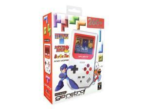 """Go Retro! Portable Handheld Game System Red & White - 260+ Classic Retro Games included - Up to 10 hour battery life - 2.8"""" High resolution screen - Intuitive User interface"""