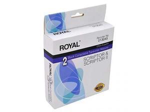 Royal Consumer Information Products 013045 Scriptor & Scriptor II Typewriter Ribbons, 2 Pack