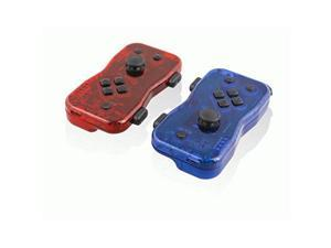 Nyko Dualies ??? Pair of Motion Controllers with Included USB Type-C Charging Cable, Joy-Con Alternative for Nintendo Switch Red/Blue