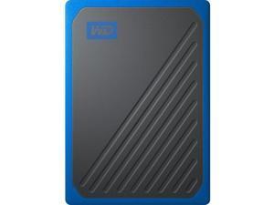 WD 500G My Passport Go SSD Cobalt Portable External Storage, USB 3.0 - WDBMCG5000ABT-WESN