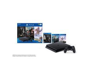 Playstation 4 Slim Bundle - God of War, The Last of US Remastered, and Horizon Zero Dawn