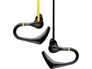 Veho Black/Yellow CEVEP-005-ZS2 3.5mm Connector ZS-2 Water Resistant Sport Hook Earbuds