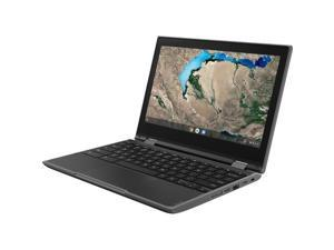 "Lenovo 300e Windows 2nd Gen 81M90061US 11.6"" Touchscreen 2 in 1 Notebook - 1366 x 768 - Celeron N4120 - 4 GB RAM - 64 GB Flash Memory - Black - Windows 10 Pro Education 64-bit - Intel UHD Graphic"