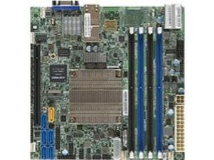 Supermicro X10SDV-8C-TLN4F Server Motherboard - Intel Chipset - Socket BGA-1667 - Intel Xeon D-1520 - 128 GB DDR4 SDRAM Maximum RAM - DIMM, UDIMM, RDIMM - 4 x Memory Slots - Gigabit Ethernet - 2 x USB