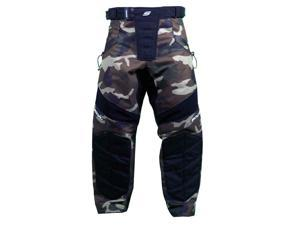 Social Paintball Grit Pants V3 - Woodland Camo - XS/S