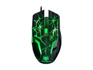 A-Jazz SpiderHero 6-Button Professional LED Optical 800/1200/1600/2400DPI Gaming Mouse