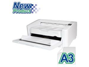 Avision AD6090 Color ADF A3 Size Document Scanner 90 ppm/180ipm in Color, 150-page ADF. Ultrasonic double-feed detection capability. High-Volume Daily Duty Cycle 20,000 pages per day.