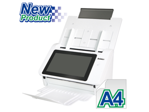 """Avision AN335W - Fast, and Affordable Duplex Color Scan Stations, 8"""" LCD display. Easy Access buttons"""