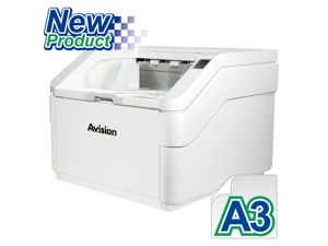 Avision AD8130U - High Speed Color Duplex Production Scanner, Scanning Speed of 130ppm/260ipm. 500 Pages ADF - Support Documents Up To A3 Size.