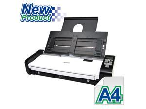 """Avision AD215 Color Duplex 15ppm/30ipm 600dpi Portable Scanner 8.5"""" x 14"""" Ultrasonic Paper Jam Detection Built-in ADF and WiFi"""