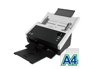 """Avision AD240 Color Duplex 40ppm/80ipm CCD 600dpi Sheetfed Scanner 8.5"""" x 118"""" LED Instant On One Press"""