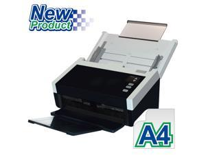 """Avision AD250 Color Duplex 80ppm/160ipm CCD 600dpi Sheetfed Scanner 8.5"""" x 14"""" LED Instant On One Press"""