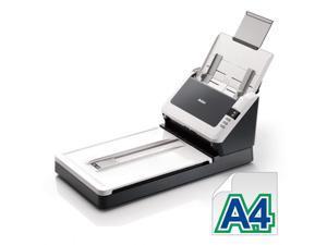 "Avision AV1760 Color Duplex 30ppm/60ipm CIS 600dpi Flatbed & ADF Scanner 8.5"" x 36"" One Press"
