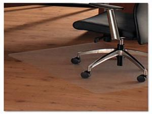 Floortex Cleartex 1215020ERA Anti-Slip Ultimat Rectangular Chair Mat For Polished Hard Floors 48 X 60 In.