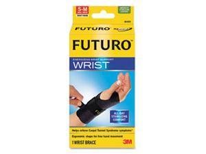 Energizing Wrist Support, Small/Medium, Fits Right Wrists 5 1/2 - 6 3/4, Black