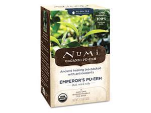 Num 10350 Organic Tea, Emperors Puerh, 16-Box