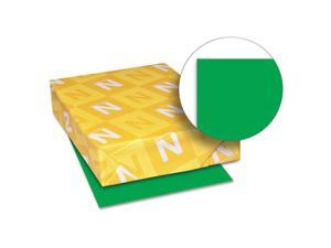 Astrobrights Colored Card Stock, 65 lbs., 8-1/2 x 11, Gamma Green, 250 Sheets