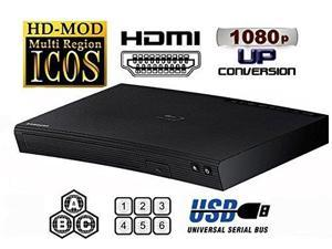 Samsung J5100RF Multi System Region Free Blu-Ray Disc DVD Player