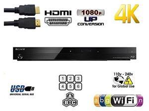 SONY BDP-S7200 Dual Core 2D/3D 2K/4K Multi System Blu Ray Region Free DVD Player