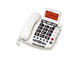 CLEAR SOUNDS WCSC600 AMPLIFIED BIGBUTTON SPKRPHONE 50DB WHITE