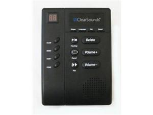 CLEAR ONE CLS-ANS3000 Digital Amplified Answering Machine with