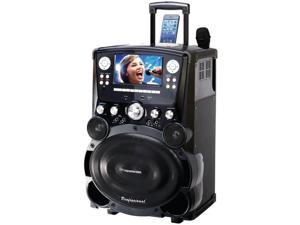 DOK - GP978 - Karaoke USA GP978 Professional Dvd/cd+g/mp3+g Bluetooth(r) Karaoke System With 7 Tft Color Screen & Tote
