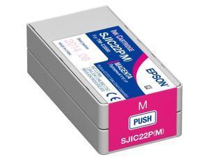 EPSON C33S020582 SJIC22P (M) Magenta Ink Cartridge for TM-C3500