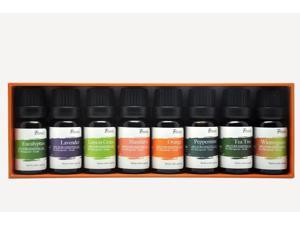Pursonic AO8 PURSONIC AO8 PURE ESSENTIAL AROMA OILS 8 PACK INCLUDES