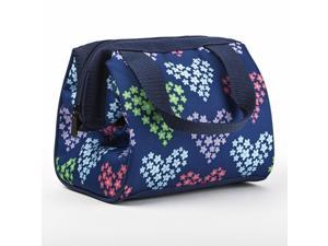 Medport 397KFF552 FIT  and  FRESH 397KFF552 KIDS RILEY LUNCH BAG HEARTS AND FLOWERS