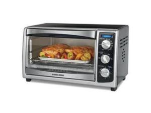 APPLICA APP#TO1675B 6-Slice Toaster Oven with Stainless Steel/ Painted finish