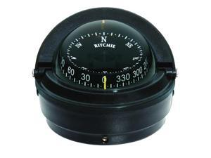 """Ritchie RITC-S-87 Compass, Surface Mount, 3"""" Dial, Black"""