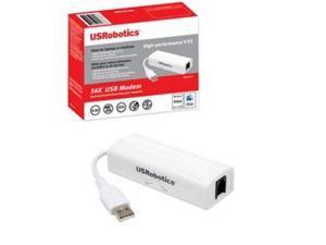 US Robotics USR5637 USRobotics USR5637 - Fax / modem - USB - 56 Kbps - V.90, V.92