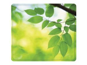 FELLOWES FEL#5903801 RECYCLED OPTICAL MOUSEPAD - LEAVES