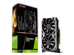 EVGA 04GP41057KR GeForce GTX 1650 SC ULTRA GAMING 4GB GDDR5 HDMI/2DisplayPort PCI-Express Video Card