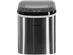 Magic Chef MC-MCIM22ST Ice Maker, 27 lbs/day, Portable, SS