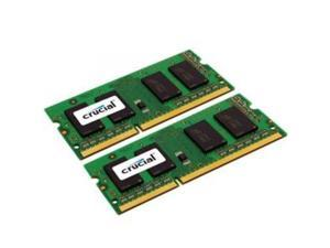 Micron CT2K4G3S1067M 8GB Kit (4GBx2) DDR3 1066 MT/s (PC3-8500) CL7 SODIMM 204pin for Mac CT3309352