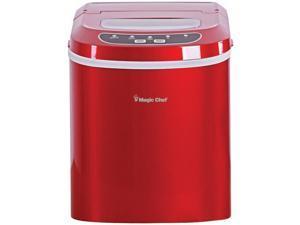Magic Chef MC-MCIM22R Ice Maker, 27 lbs/day, Portable, Red