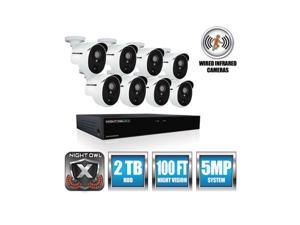 Night Owl Security Products XHD502-88P-B SECURITY,8CH,5MP,DVR