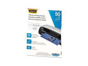 FEL5744301 Fellowes Thermal Laminating Pouches, Letter, 3 mil, 50/Pack