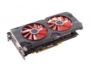 XFX RX-580P427D6 RX 580 4GB OC 1386MHz DDR5 w//Backplate 3xDP HDMI DVI Graphics