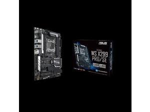 ASUS WS X299 PRO/SE Asus MB WS X299 Pro SE ATX Xeon W X299 4DIMM 64GB DDR4 Brown Box